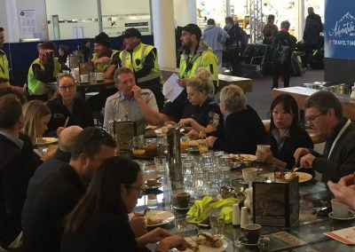 The Queenstown Airport Community enjoys the start of Airport Safety Week at Airspresso Café._edited