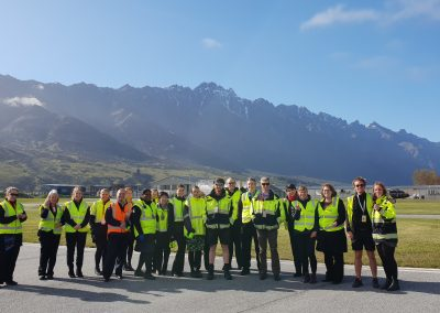 Group shot - FOD walk and Apron tour during Airport Safety Week 2018_2