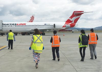 Canberra Airport fod walk