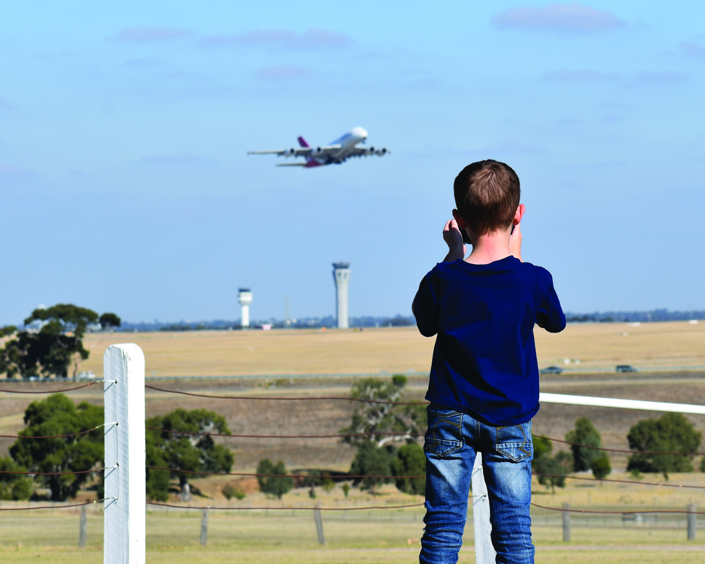 Kristy Roberts, Melbourne Airport