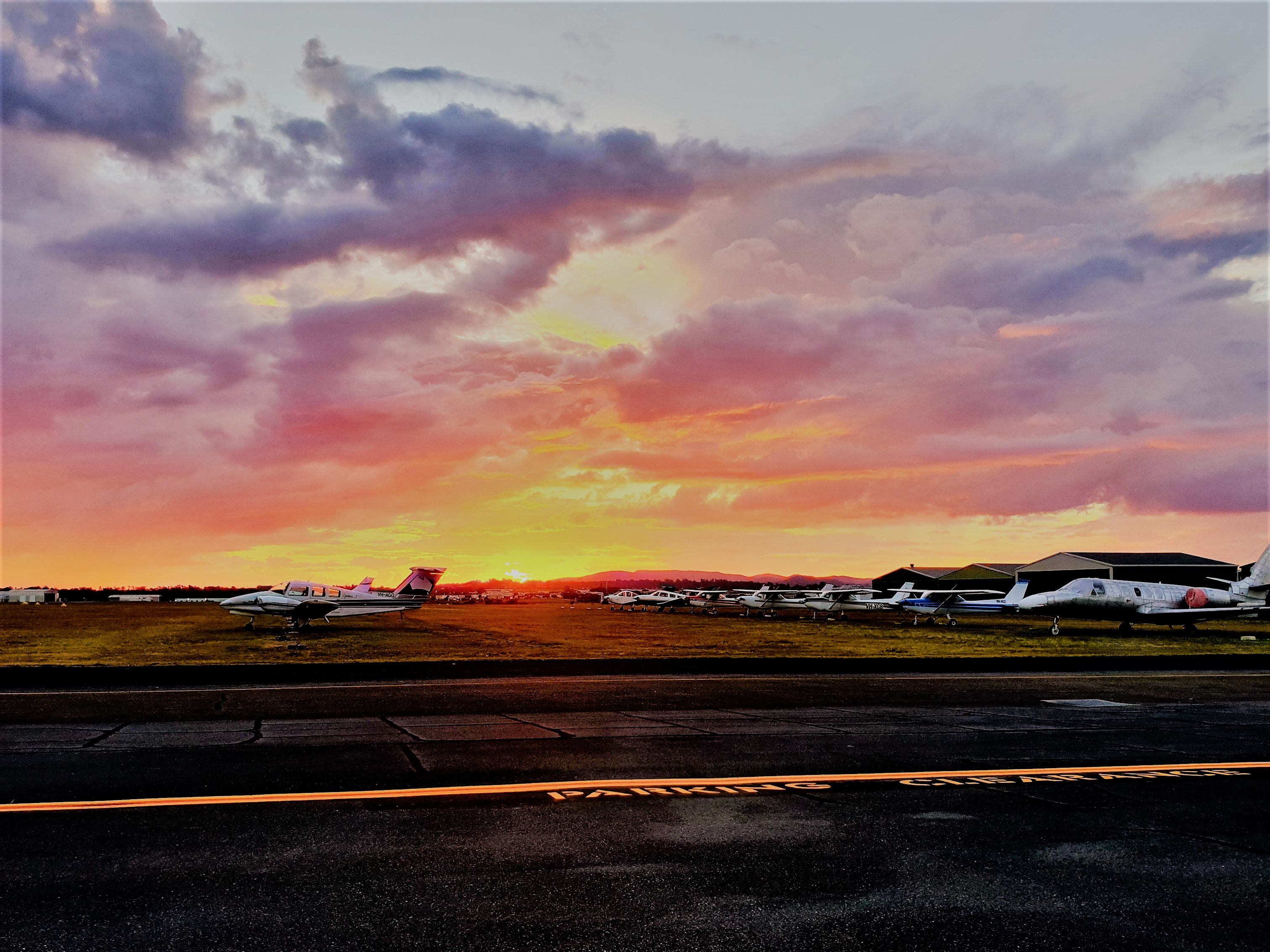 Michelle Christensen, Archerfield Airport
